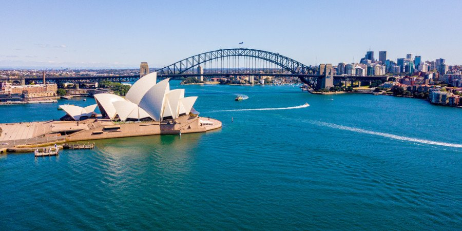 Sidney Opera House e Harbour Bridge